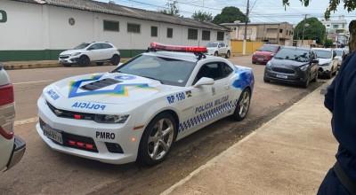 Justiça cede um Camaro para a PM de Rondônia