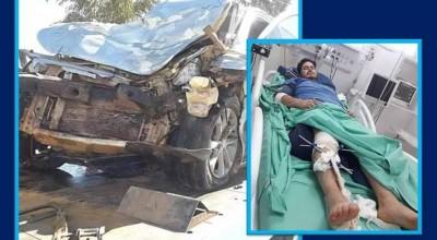 Após não conseguir emprego em Vilhena, técnico agrícola se envolve em acidente grave em MT