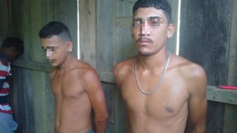 Bandidos são presos por crime de homicídio  prla Polícia de Mirante da Serra e Draco de Cacoal