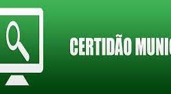 Certidão Municipal pode ser emitida on-line em Rolim de Moura