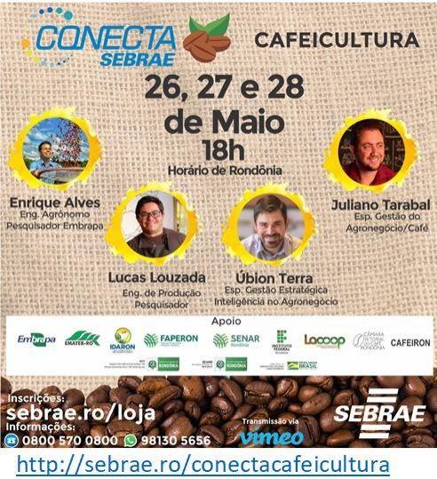 Conheça  o evento para dar suporte aos produtores de café,  o Conecta Sebrae Cafeicultura