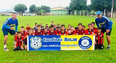 Rolim de Moura: Escolinha de Futebol Rolim completa 8 anos de sucesso