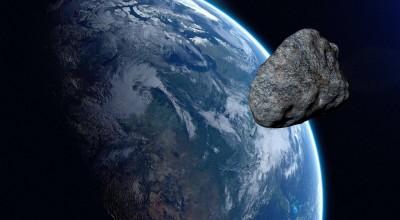 Essa foi por pouco! Asteroide