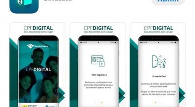Receita lançou aplicativo CPF digital