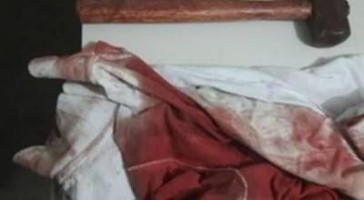 Discussão por causa de rede para dormir termina com homem de 36 anos morto golpes de marreta