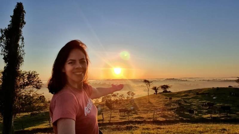 Jornalista registra imagens espetaculares do nascer do sol em Alta Floresta do Oeste