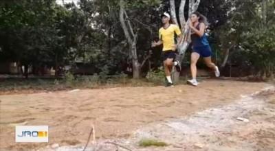 Atletas Paraolímpicos  nascidos em Rolim de Moura, criam academia em casa e pista de corrida em Porto Velho