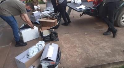 Policial boliviano é preso tentando atravessar ilegalmente mercadoria de R$ 40 mil em Guajará-Mirim, RO
