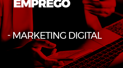 Oferta de emprego para Marketing Digital