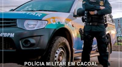 Polícia Militar prende foragido da justiça em Cacoal