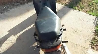 Polícia  Militar recupera moto furtada em Cacoal