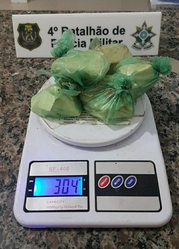 Polícia Militar combate o tráfico de drogas em Cacoal