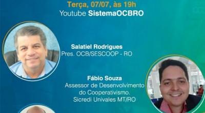Desenvolvimento Local Através Do Cooperativo; Sicredi Univales MT/RO participa de live com Presidente da OCB/SESCOOP