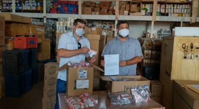 Grupo César Cassol Calcário doa ao município de Rolim de Moura 200 kits de medicamentos para o combate a covid-19