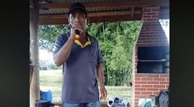 Jardineiro Rondoniense bomba na web cantando Zezé Di Camargo e Luciano