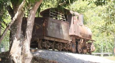 Museu Rondon recebe locomotiva para memorial