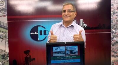 Nota de Falecimento: Morre em Cacoal o jornalista e apresentador Genézio Lima