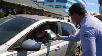 Testes realizados em drive thru revelam 261 infectados na Capital