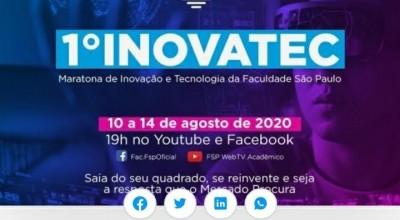 1ª INOVATEC- Maratona de Inovação e Tecnologia da Faculdade São Paulo