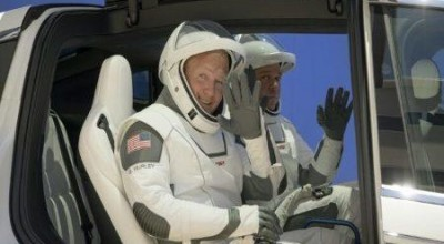 Astronautas dos EUA se preparam para retorno da missão