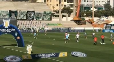 Com 9 atletas com Covid-19, Goiás tem estreia adiada no Brasileiro