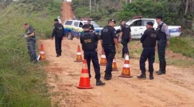 Crivado de balas e com as mãos amarradas para trás, corpo de homem é encontrado na área rural