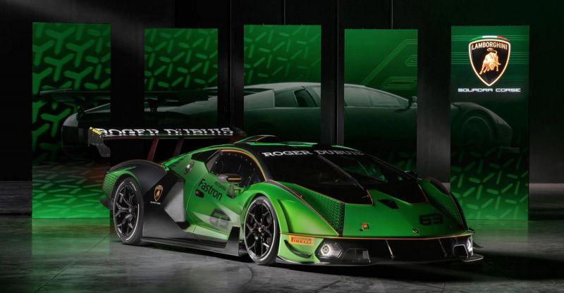 Internacional: Novo carro da Lamborghini é tão potente que não deve circular em vias públicas