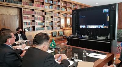 Michel Temer aceita convite de Bolsonaro para ser enviado especial ao Líbano
