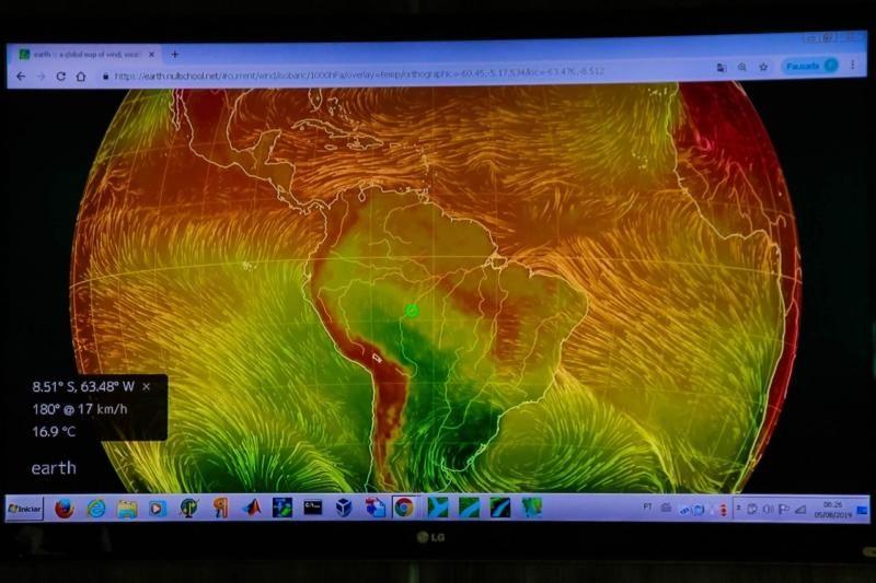 O Estado de Rondônia terá solo monitorado com dados de satélite