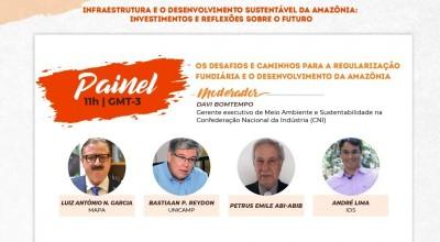 Agronegócio e Infraestrutura são os temas da terceira rodada de debates prévios do Amazônia+21