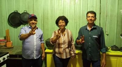 Com apoio de deputada federal e ex-prefeito, ex-vereadores são lançados para disputar prefeitura