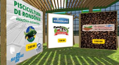 CONECTA SEBRAE: Estandes virtuais já tomam forma e conteúdo de expositores na Agrolab Amazônia