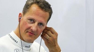'Schumacher se comunica com os olhos'