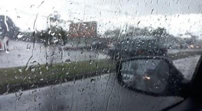 Domingo deve ter pancadas de chuva com trovoadas