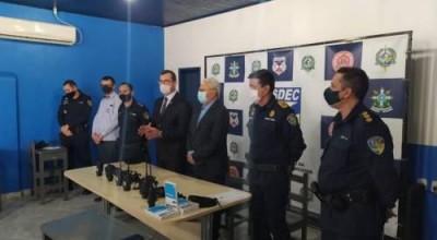Governo de Rondônia entrega rádios comunicadores HD para a 3ª Companhia de Polícia Militar