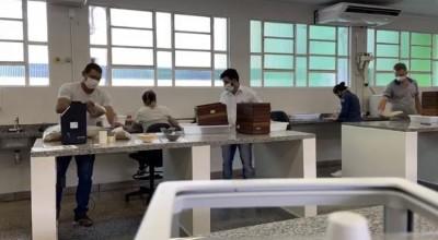 Idaron e Emater firmam convênio com IFRO Campus Cacoal, implantam laboratório de análise física de grãos e realizam análise para 5º CONCAFÉ