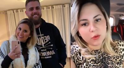 Mulher de Zé Neto ganha 300 mil seguidores após 'volume'