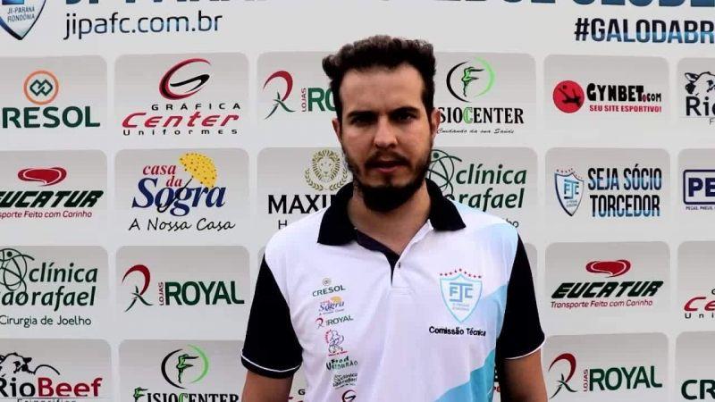 """""""Nós temos que ir para Manaus pensando na vitória"""" diz Bruno Monteiro"""