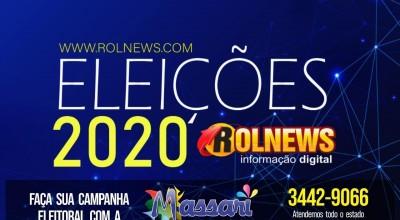 Patrimônio declarado ao TSE dos candidatos à prefeitura de Rolim de Moura vão de zero a R$ 2,2 milhões