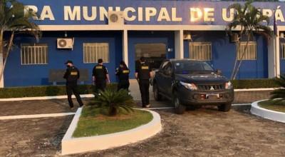 Polícia cumpre mandado em Urupá