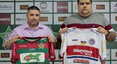 Porto Velho-RO e Portuguesa-RJ firmam parceria