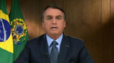 Somos vítimas de campanha brutal de desinformação, diz Bolsonaro; leia discurso