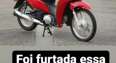 Rolim deMoura: Mais uma moto furtada no muncicípio