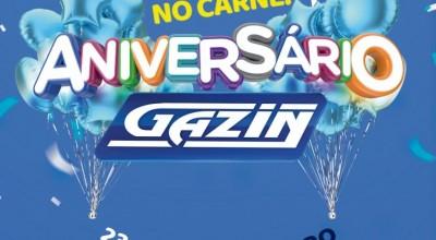 Aniversário de 21 anos da Gazin Rolim de Moura: Toda a loja em 10 x sem juros