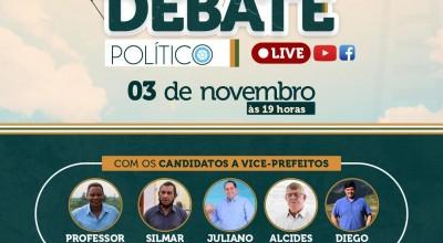 Eleições 2020: Debate na faculdade FAROL reunirá os candidatos à vice- prefeitos de Rolim de Moura