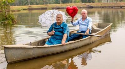 Em Espigão do Oeste, casal celebra 60 anos de casamento com lindo ensaio fotográfico