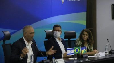 Em visita a Rondônia, embaixador de Israel busca estreitar relações comerciais com a importação da carne bovina do Estado