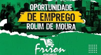 Friron Atacarejo está com vagas de emprego para Rolim de Moura