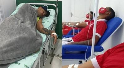 Goleiro Bruno, e delegação do Rio Branco são internados com suspeita de intoxicação
