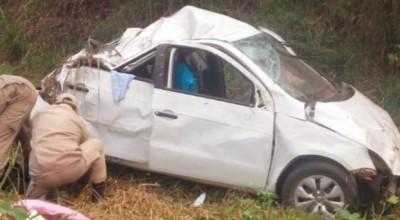 Grave acidente na BR-364 com casal deixa uma pessoa morta